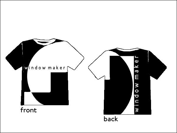 t-shirt5.jpg : WindowMaker t-shirt design by Alfredo himself! redone in a